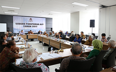 Sidang Paripurna AIPI 17 Oktober 2017