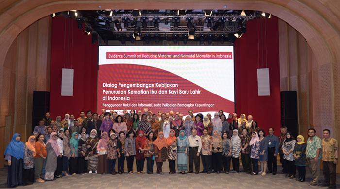 Evidence Summit Mengurangi Kematian Ibu dan Bayi Baru Lahir di Indonesia